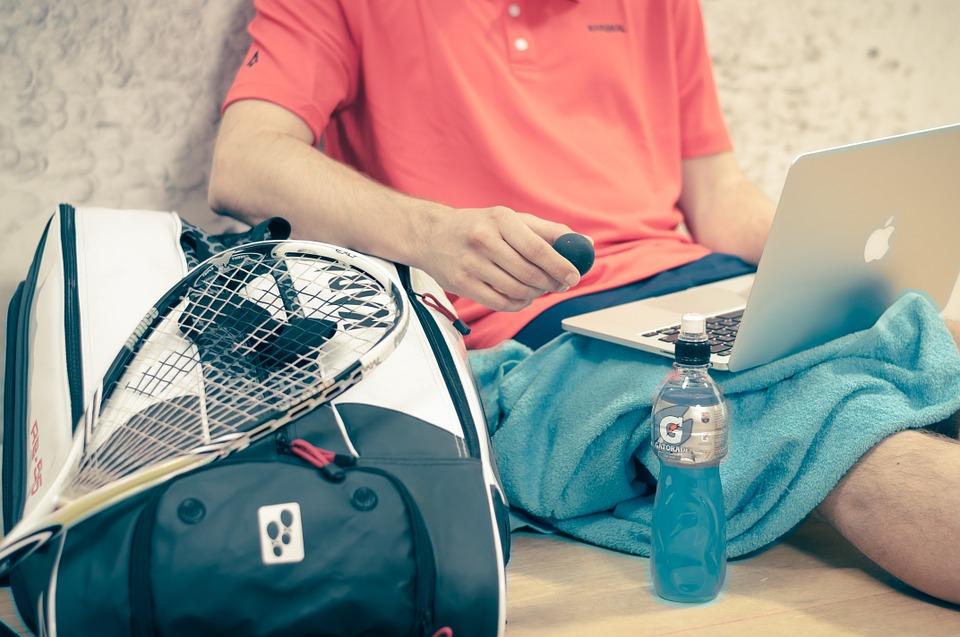 Squashen gezonde sport