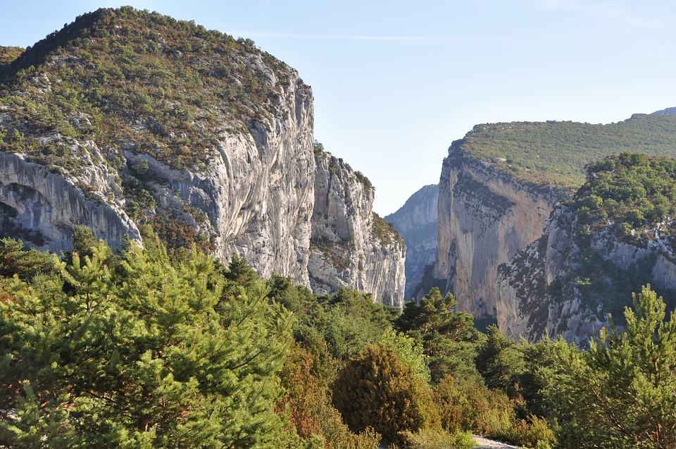 Gorges du Verdon bergbeklimmen