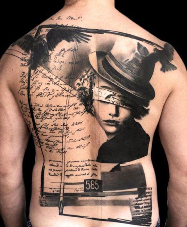 Tattoo ideeen vollege rug