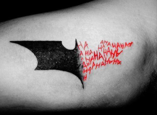 badman tattoo idee