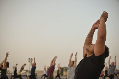 ontspanningsoefeningen stress verminderen