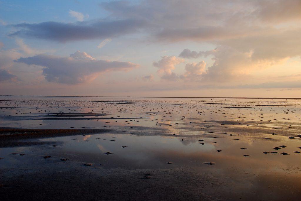 zonsondergang waddeneilanden