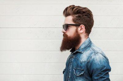 Man met baard