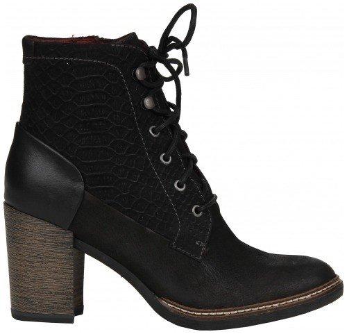 schoen zwarte laars