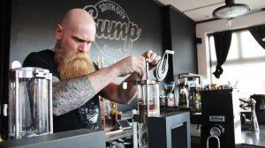 coffee shop roadtrip in Amerika