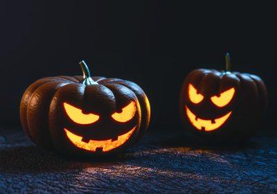 Halloween jack-o'lanters