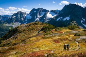 North Cascades Nationaal Park Washington roadtrip in Amerika