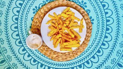 Recept Polentafrietjes met zoete mayo