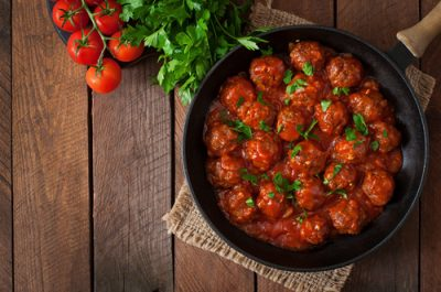 manly meatballs