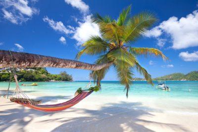 Eiland hoppen in de Seychellen