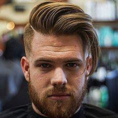 comb over mannenkapsel