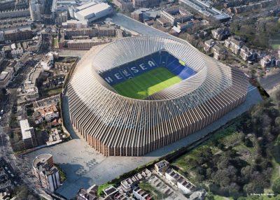 Nieuwe stadion Chelsea