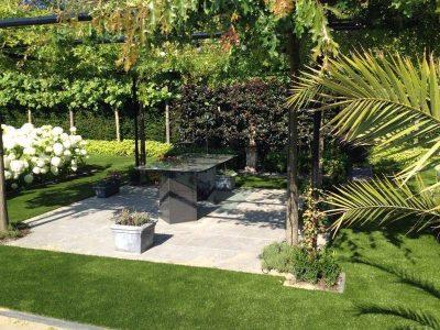 kunstgazon tuin