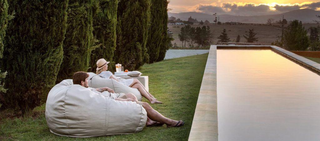 Relaxen in tuin