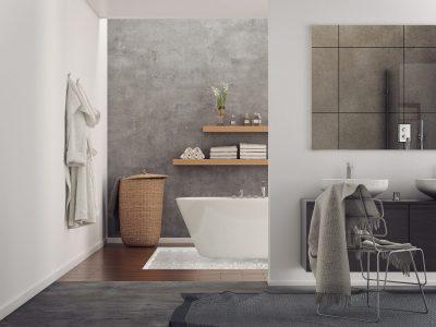 Stoere vloeren badkamer