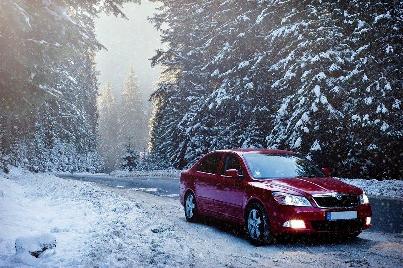 winter veilig de weg op
