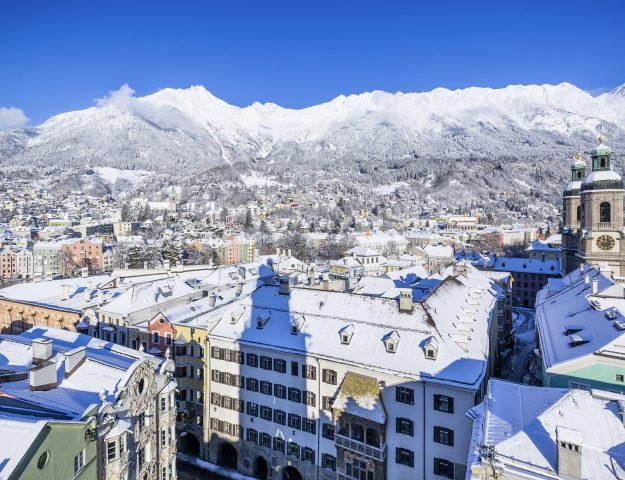 Uitzicht Innsbruck