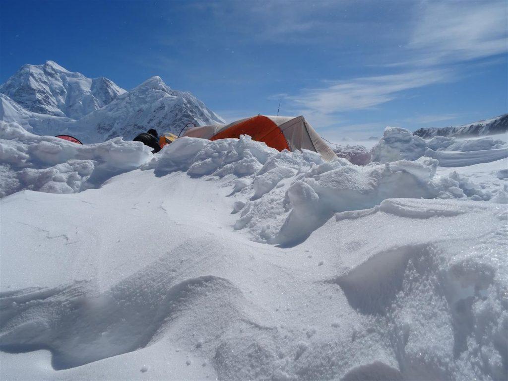 Denali ingesneeuwd