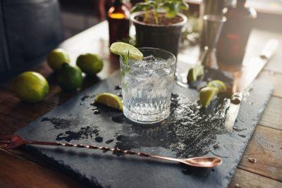 Ook mannen mogen genieten van een lekker gin-tonic.