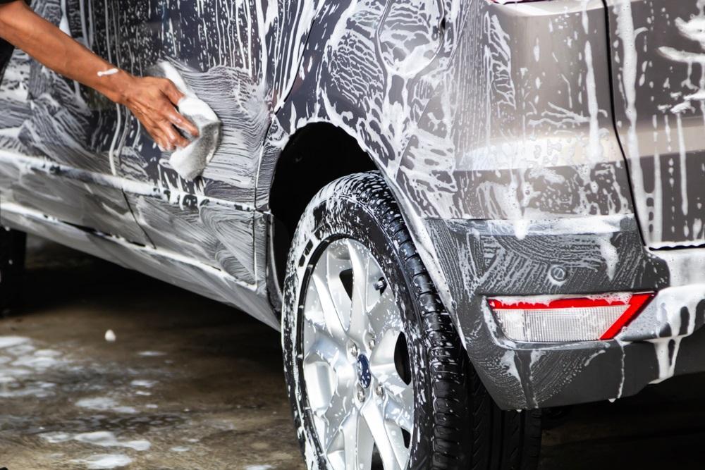 Auto wassen