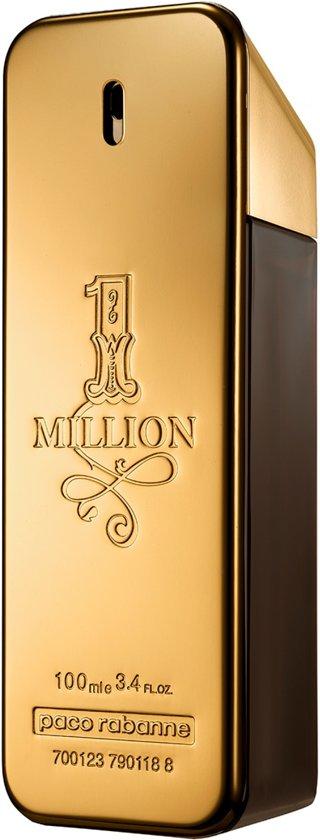 Paco Rabanne 1 Million 100 ml - Eau de Toilette - beste Herenparfum 2020