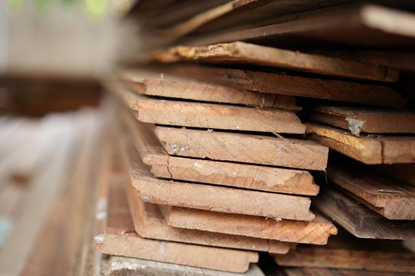 Bouw- of verbouw op een duurzame manier met gebruikte bouwmaterialen