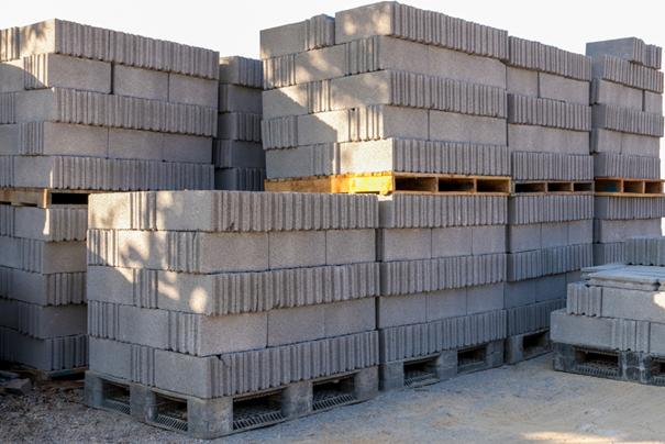 Gebruikte bouwmaterialen