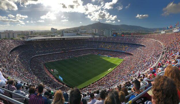 De vijf aller grootste voetbalstadions