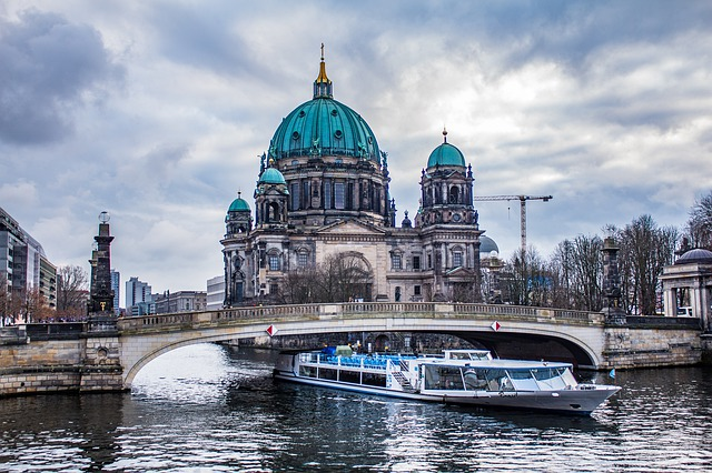 Grote stad Berlijn een van de grootste steden in Europa