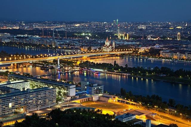 Grote stad in Oostenrijk, Wenen