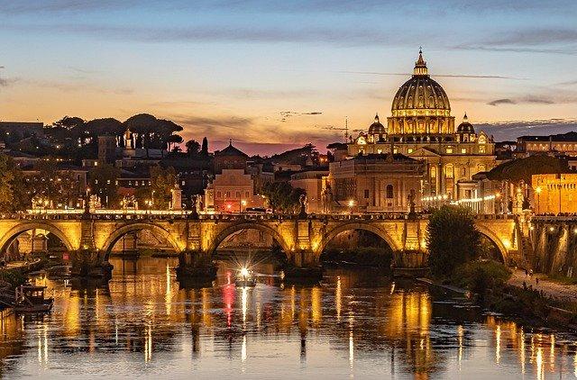 Rome een gigantische stad