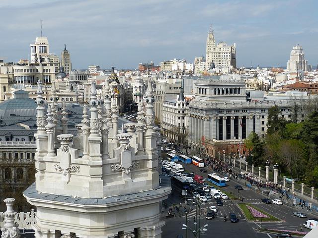 Madrid een grote stad