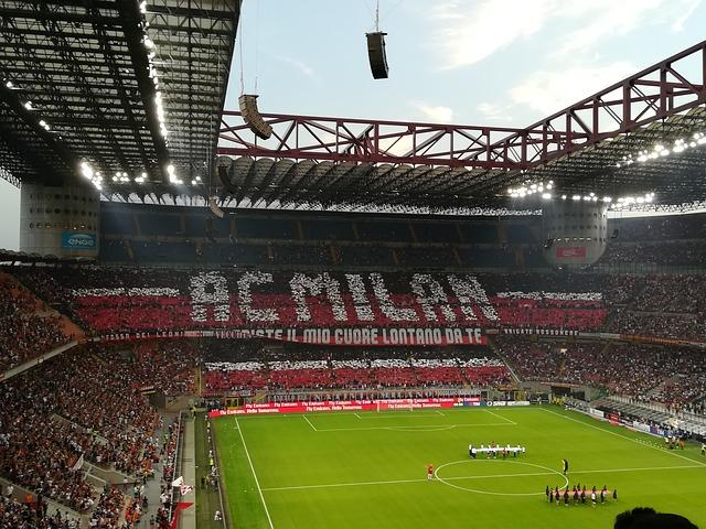 Voetbalstadions in Italië San Siro.