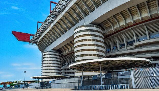 Voetbalstadions Italie