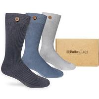 Button Right sokken voor heren