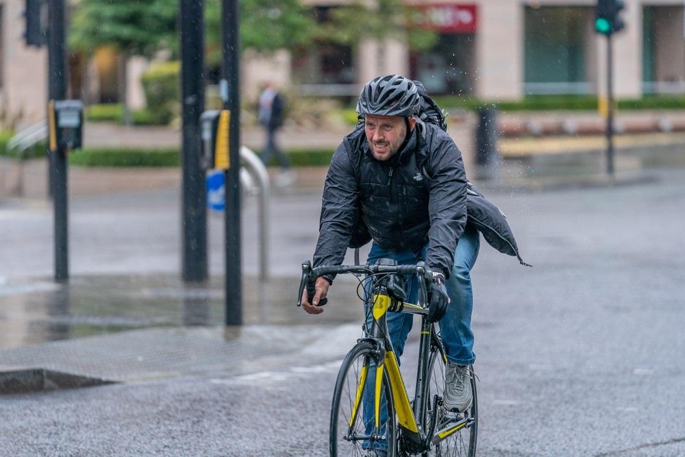 Regenjas fiets heren